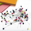 Stock Photo: Colorful thumbtacks