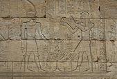 Egipski grawerowane — Zdjęcie stockowe
