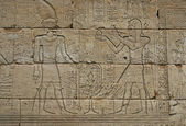 Egyptian engraved — Stock Photo