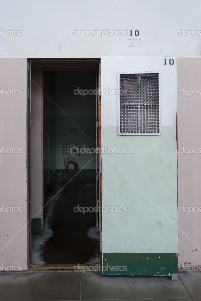 Solitary confinement, prison of Alcatraz — Stock Photo #13824653