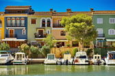 Little Venice (Port Saplaya) in Spain — Fotografia Stock