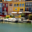 Little Venice (Port Saplaya) in Spain — Stock Photo