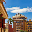 Stock Photo: Spain. Valencia. Residential area