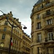 Stock Photo: Street in France. Buildings in Paris