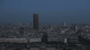 Evening Paris — Stock Video