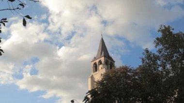 Abbey of St. Germain in Paris — Wideo stockowe