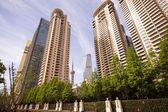 Wysokich budynków w szanghaju — Zdjęcie stockowe