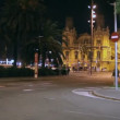 Stock Video: Evening Spanish street