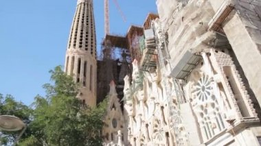 Sagrada Familia — Stockvideo
