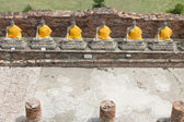 Buddha statues in Ayutthaya, Thailand Public places — Stock Photo