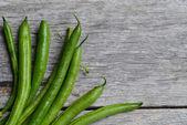 Grüne bohnen — Stockfoto