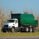Garbage truck — Stock Photo #11627615