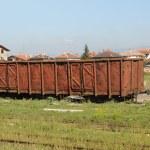 Abandoned rail car — Stock Photo #11635972