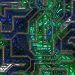 Electronic circuit — Stock Photo #11642334