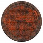 Rusty manhole cover — Stock Photo #11642947
