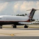 Jet airplane — Stock Photo #11784025