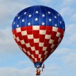 Giant hot air balloon — Stock Photo #11852814