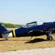Old propeller airplane — Stock Photo #11901114