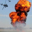 Helicopter attack — Stock Photo #11923189