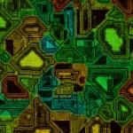 Green circuit board — Stock Photo #11925723