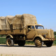 Old military truck — Stock Photo #11929233