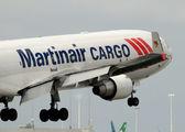 Martinair cargo jet airplane landing — Stock Photo