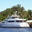 Stock Photo: Luxury yacht in Florida