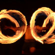 Stock Photo: Fire dancer