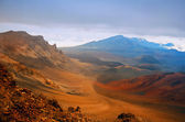Sunset over Haleakala volcano, Maui — Stock Photo