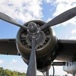 Old airplane engine — Stock Photo #24282679
