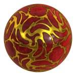 Precious stone red ball — Stock Photo #24705313