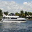 Stock Photo: Luxury yacht on Floridwaterway