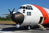 Samolot patrol straży przybrzeżnej — Zdjęcie stockowe