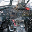 Old bomber cockpit — Stock Photo #24995685