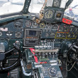 Постер, плакат: Old bomber cockpit