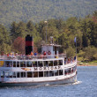 Sightseeing on Lake George, New York State — Stock Photo