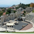 Stock Photo: Romtheater in Plovdiv, Bulgaria