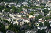 Aerial view of Frankfurt, Germany — Stock Photo