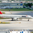 Stock Photo: Northwest Airlines Boeing 757 passenger jet