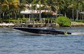 Speedboat in the tropics — Stock Photo