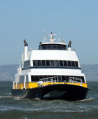 Ferry boat in San Francisco — Stock Photo