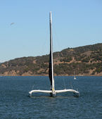 Sailing in the San Francisco Bay — Foto de Stock