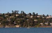 Sausalito, California coastline — Stock Photo