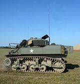 Old American tank — Stock Photo