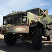 Heavy army truck — Stock Photo