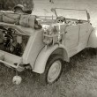 Stock Photo: World War II military vehicle