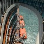 View from passenger ocean liner — Stock Photo #46572743