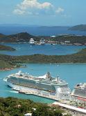 королевский карибских свобода морей — Стоковое фото