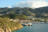 Coastal Scenery from Saint Thomas — Stock Photo