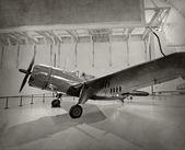 World War 2 era fighter plane — Stock Photo
